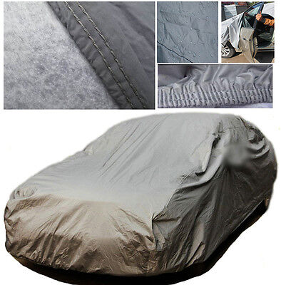 HEAVY DUTY M All Weather Protection Full Car Cover Waterproof Outdoor Breathable