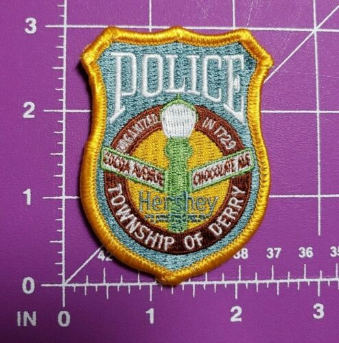 Hershey PA Police patch-Township of Derry-small size new
