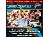 Pigeon Eye Productions videographer and photographer