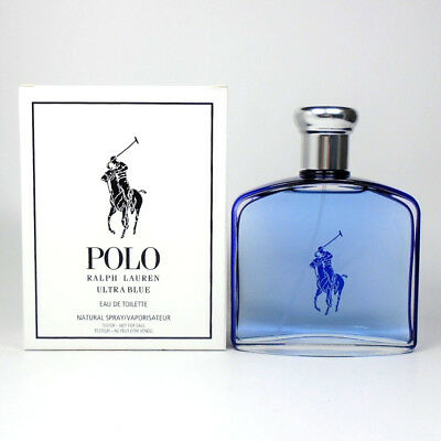 Polo Ultra Blue by Ralph Lauren Eau de Toilett for Men 4.2oz/125ml *NEW TST BOX*