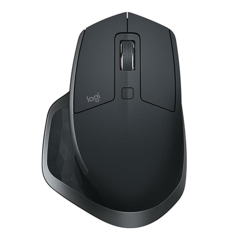 Logitech MX Master 2S Wireless Mouse FLOW Cross-Computer Control File Sharing
