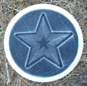 Plaster-mold-concrete-mold-cement-mold-star-stepping-stone-plastic-mold-mould