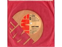 "Kate Bush: HAMMER HORROR, 7"" Single. Very good condition: ORIGINAL RECORD."