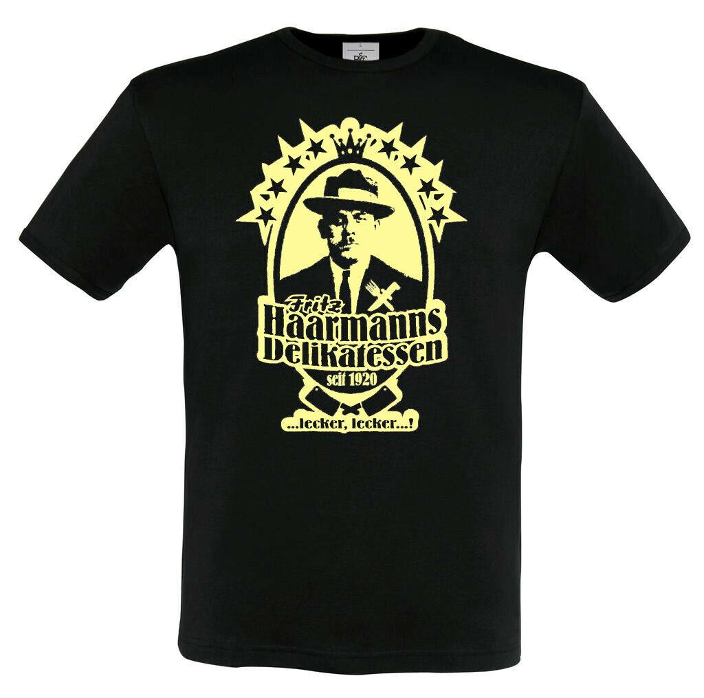 Fritz Haarmann T Shirt Hannover Hooligans Ultras Fans Hannoi Szene Mörder Grusel