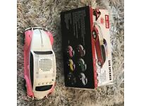 Pink Beetle Shaped MP3 MUSIC RADIO LED Player