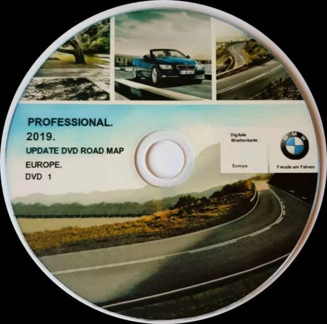 BMW Professional 2019 Navigation Map Update DVD | in Westminster, London |  Gumtree