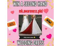 Second hand wedding dress beautiful