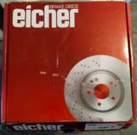 Eicher Premium Brake Discs for Citroën Xsara Picasso 2007