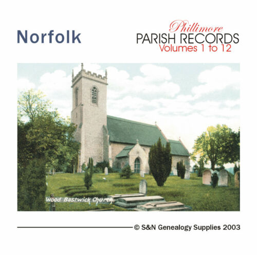 Norfolk Parish Registers - Complete Phillimore Marriage Records