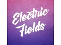 Electric Fields family weekend tickets with posh loos showers and parking ***