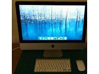 "Apple iMac 21.5"" Desktop - Great Condition - Bargin"
