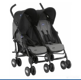 Baby twin pram/buggy/troller
