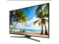 """Ue50ku6000 Samsung 50"""" smart tv HD led free view."""