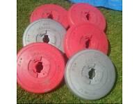 Set of 6 orbatron weights