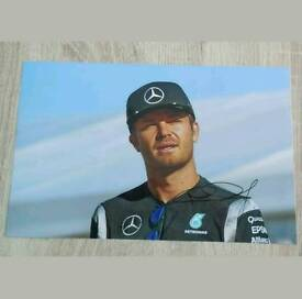 Nico Rosburg signed 12x8 F1 photo with Coa
