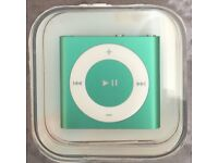 Brand new Apple Ipod Shuffle 4th Generation 2GB - Green