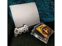 Silver PlayStation 3 Slim 320gb