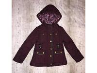 Lovely Girls Jacket/Coat - Age 3/4