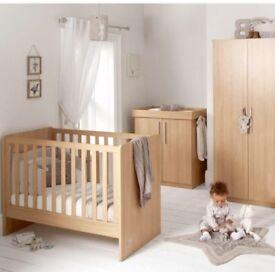 Nursery furniture, Mamas and Papas.