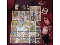 Nintendo DS Lite pink, 32 games and accessories. Amazing Bundle. Ideal Christmas present/gift