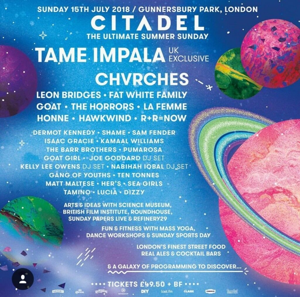 2x CHEAP CITADEL TICKETS - LONDON | in Forest Hill, London | Gumtree