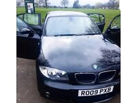 BMW 1 SERIES 123D 2009 - 2.0 DIESEL - 17i ALLOY M SPORT FULL LEATHER - MOT 2018- £5250 ONO