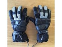 Richa Leather Motorcycle gloves (M)