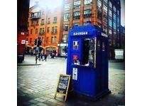 Police Box Tardis Kiosk