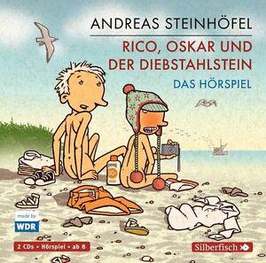 Rico, Oskar und der Diebstahlstein - Das Hörspiel: 2 CDs - Steinhöfel, Andreas