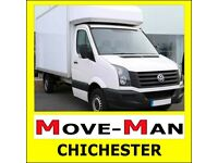 ☎️ 07518 412 687 (MAN and VAN) House/Flat Moves, Office Moves, Furniture, Single Items, CHICHESTER