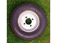 Trailer tyre and wheel 4.80 x 8 Pirelli