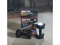Iron Gym 2 x 2KG Hex Dumbbels