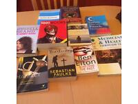 Books £3 the lot!!
