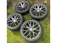 "19"" 5x112 Boston Alloys (Audi, VW, Seat) £200"