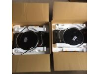 Pair of Technics SL-1210 MK2s: Excellent condition in original boxes