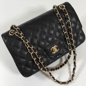 Chanel Classic Leather  Bag (More Styles And Colors Available )