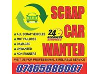 Scarp Car or Small Vans WANTED