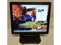 "17"" LCD Monitor Jet Black! (Great Picture, TESTED 100% Working) ViewSonic Optiquest Q7"
