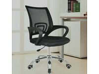 5 Brand new and boxed office chairs- (over-ordered for refurb job)