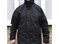 Result 3-in-1 Men's Zip & Clip Outdoor Wind Waterproof Jacket Stormdri Black. SIZE M, UK 41, EU 50