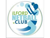 Netball club based in Ilford looking for competitive players!!