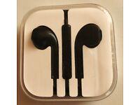 ORIGINAL!!! GENUINE! & not FAKE!! BLACK!! Apple EarPods / Earphones / Headphones with Remote and Mic