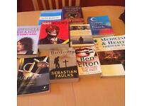 Books £3 the lot!!