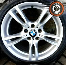 "18"" Genuine BMW M Sport 3 ser staggered alloys premium tyres."