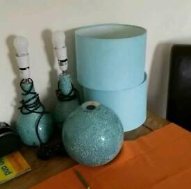 Next shades and lamp