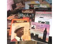16 records of various artists, £10.00 ONO