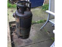 Log Burner multi fuel smoker Garden heater