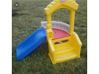 Little Tikes climber and slide