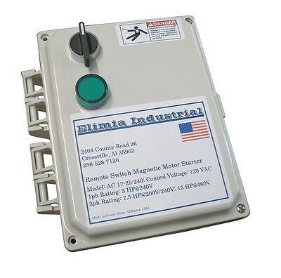 Elimia Air Compressor Or Pump Motor Starter 240v Coil 5.5 - 8 Amp 2 Hp