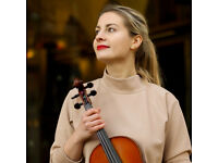 ROYAL ACADEMY OF MUSIC VIOLIN AND PIANO TEACHER - TRAVELS TO YOU OR TEACHES ONLINE!